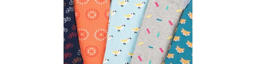 Original and fun knee-high socks. Online sales