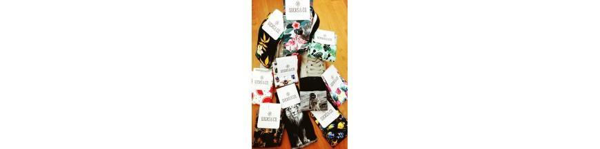 Collection de chaussettes IMPRIMER. Vente en ligne